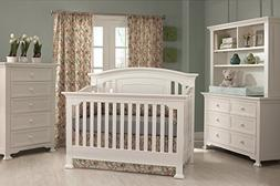 Munire Medford Convertible Crib, White