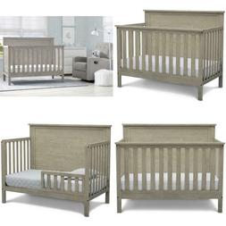 Delta Children Middleton 4-in-1 Convertible Baby Crib, Textu