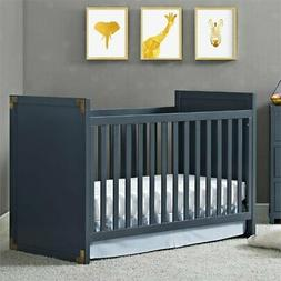Baby Relax Miles Campaign Crib - Blue
