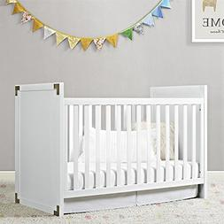 Baby Relax Miles Campaign Crib - White