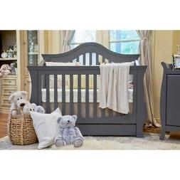 Million Dollar Baby Ashbury 4-in-1 Convertible Crib with Tod