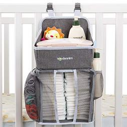 Minnebaby Baby Nursery Organizer and Diaper Caddy Organizer,