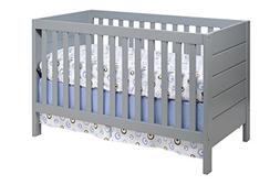 Baby Mod Modena 3-in-1 Convertible Crib with Toddler Bed Con