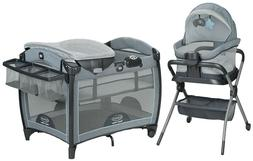 Graco Pack 'n Play Day2Dream Playard & Bedside Sleeper, Layn