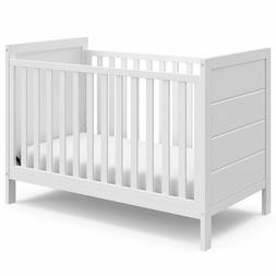 Storkcraft Nestling 3 in 1 Convertible Crib in White NEW!!!