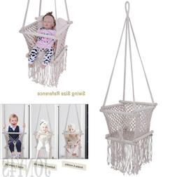 NEW Baby Hammock Hanging Cradle Cot Sleep Bed Swing Seat Out