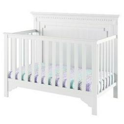 NEW Baby Relax Edgemont 5-in-1 Convertible Crib - White