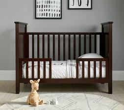 NEW Pottery Barn Fillmore Toddler Bed Conversion Kit Dark Ch