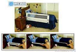 NEW! Regalo Hide Away Extra Long Bed Rail Toddlers Safety Ea