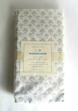 NWT Pottery Barn Kids Organic Sateen Baby Clover Fitted Crib