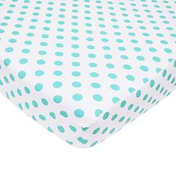 OpenBox TL Care 100% Cotton Percale Fitted Crib Sheet for St