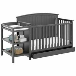 OpenBox Storkcraft Steveston 4-IN-1 Convertible Crib and Cha