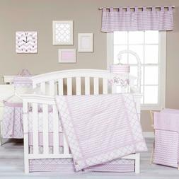 Trend Lab Orchid Bloom Baby Nursery Crib Bedding CHOOSE FROM