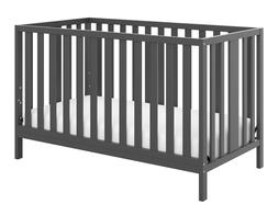 Storkcraft Pacific 4 in 1 Convertible Crib Gray