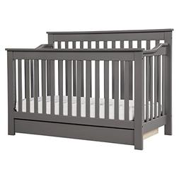 DaVinci Piedmont 4-in-1 Convertible Crib with Toddler Rail,