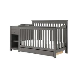 DaVinci Piedmont 4-in-1 Crib and Changer Combo, Slate
