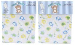 Honey Baby Elephant Blue Toddler Bed or Crib Sheets 2-Pack 100/% Cotton
