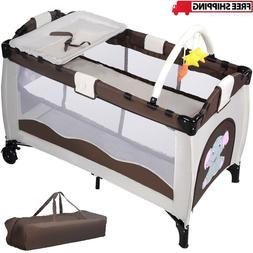 Portable Baby Bassinet Playpen For Baby Travel Portable Play