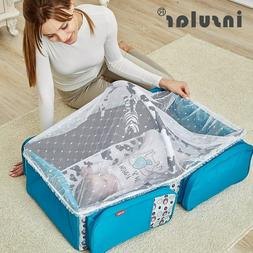 Portable Baby Cribs 2 in 1 Diaper Nappy Bag Newborn Travel F