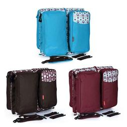 Portable Travel Bed Baby Cribs Diapers Bag Foldable Maternit