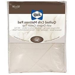 Sealy Quilted Organic Cotton Mattress Pad