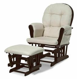 Rocker Glider Rocking Chair Ottoman Baby Nursery Nursing Eas