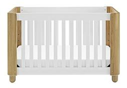 Status Roland 3-in-1 Convertible Crib - White/Natural