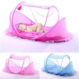 Rose Foldable Infant Baby Mosquito Net Travel Cot Tent Cradl
