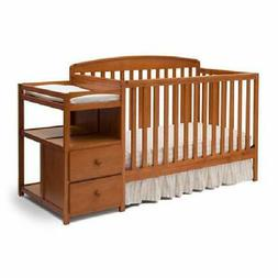Delta Children Royal 4-in-1 Convertible Baby Crib and Change