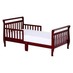 Dream On Me Sleigh Toddler Bed with 2 Safety Rails