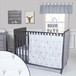 Trend Lab Stag Head Baby Nursery Crib Bedding CHOOSE FROM 3