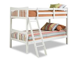 Stork Craft Caribou Bunk Bed - White