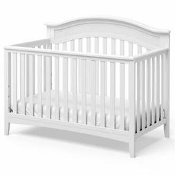 Storkcraft Valley 4 in 1 Convertible Crib in White