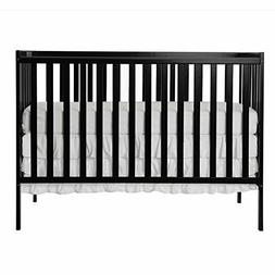 synergy 5 in 1 convertible crib black