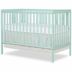 Dream On Me Synergy 5 in 1 Convertible Crib, Mint