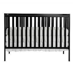 SynergyConvertible Crib, Black