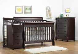 Sorelle Tuscany & More 4-in-1 Convertible Crib & Changer Set