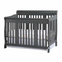 Storkcraft Baby Tuscany 4 in 1 Fixed Side Convertible Crib