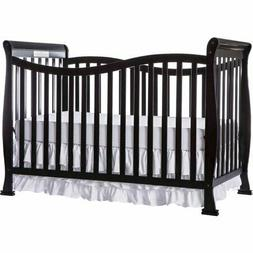 Dream On Me Violet 7-in-1 Convertible Crib Black1