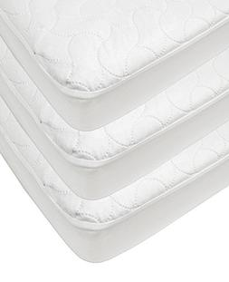 American Baby Company Waterproof Fitted Quilted Crib and Tod