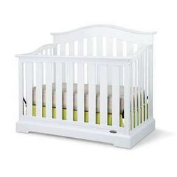 Westbrook 4-in-1 Convertible Crib, White