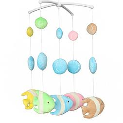 Wind-up Music Box Mobile Exquisite Baby Crib Decoration