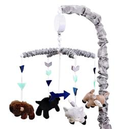 Woodland Trail Forest Animal Theme Digital Musical Crib Mobi